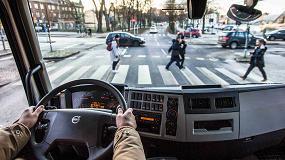 Foto de Volvo Trucks avanza en la protección de ciclistas y peatones en el tráfico urbano