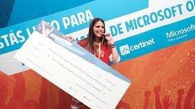 Foto de Una alumna del Centro Educativo Albaydar, primera española en el MOS World Championship