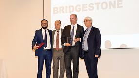 Foto de Bridgestone, 'Proveedor del Año de Proactividad y Colaboración' de CNH Industrial