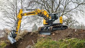 Foto de Liebherr inicia la producción en serie de la nueva excavadora compacta R 926 Compact