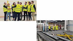 Foto de El presidente del Grupo Liébot visita las instalaciones de K-Line en Parets del Vallés