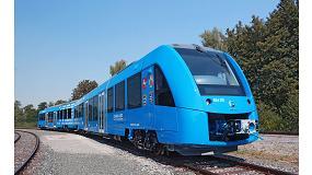 Foto de El primer tren de hidrógeno del mundo, listo para la operación comercial