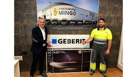 Foto de Geberit anuncia a los ganadores de su Promoción de Mecanismos