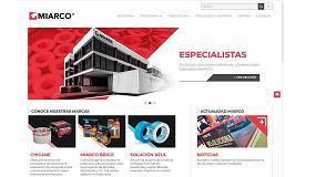 Foto de Miarco estrena nueva página web corporativa