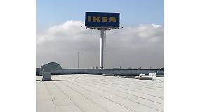 Foto de Ikea confía en Icopal para la impermeabilización de la cubierta de su tienda de Sevilla