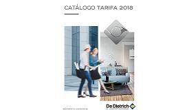 Foto de De Dietrich presenta su nuevo catálogo tarifa 2018