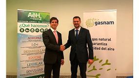 Foto de Gasnam y la Asociación Española del Hidrógeno firman un acuerdo de colaboración