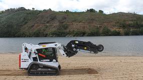 Foto de Limpieza más efectiva a orillas del Duero con Bobcat