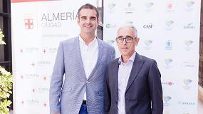 Foto de Sakata presenta su apoyo a Almería 2019