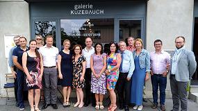 Foto de Reunión del consorcio EU-Textile2030, el clúster europeo de materiales textiles avanzados, en Praga