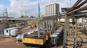 Foto de Aplicaciones del aire comprimido en operaciones de parada de refinería