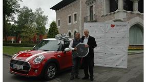 Foto de La empresa instaladora Teodoro Méndez-Trelles de Mieres (Asturias) nuevo ganador del MINI Cooper de Saunier Duval