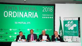 Foto de Fraternidad-Muprespa presenta sus resultados de 2017