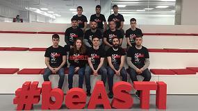 Foto de El programa ASTI Academy dedica cerca de 10.000 horas en formación dual de 17 alumnos de FP