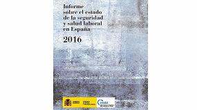 Foto de El INSSBT publica el 'Informe sobre el estado de la seguridad y salud laboral en España 2016'
