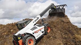 Foto de Cargadora telescópica TL43.80HF: el máximo exponente de la gama agrícola de Bobcat