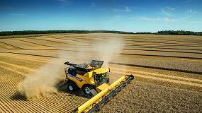 Foto de New Holland eleva el nivel de eficiencia en las cosechadoras de rotores CR Revelation
