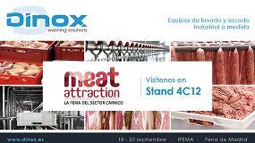 Foto de Dinox, presente en Meat Attraction