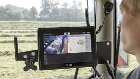 Foto de Sistema de pesado y cámaras conmutadas en las roto-encintadoras Krone Comprima