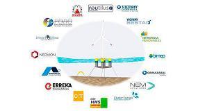 Foto de CT participa en un proyecto para diseñar y fabricar un aerogenerador flotante para la eólica offshore