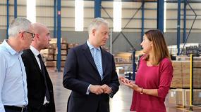 Foto de El embajador de Reino Unido en España visita la sede central de Cortizo