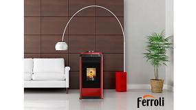 Foto de Ferroli amplía la gama de biomasa con su nueva estufa de pellet Omega Plus