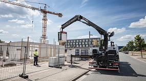 Foto de Hiab refuerza su gama de grúas con nuevos modelos especialmente dirigidos al trabajo con materiales de construcción