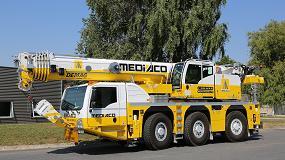 Foto de Mediaco recibe la primera grúa móvil Demag AC 55-3 de Francia