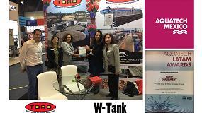 Foto de W-Tank recibe el reconocimiento de Aquatech México