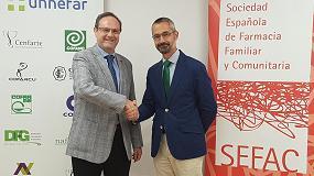 Foto de Sefac y Unnefar colaborarán en la formación asistencial de los farmacéuticos comunitarios