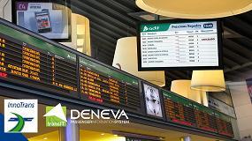 Foto de Icon Multimedia acude a InnoTrans 2018 con su apuesta por el digital Signage para estaciones inteligentes