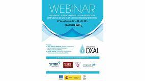 Foto de Sitra y el Grupo Operativo Oxal organizan un webinar sobre el tratamiento de aguas agroalimentarias