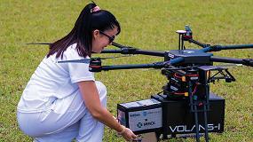 Foto de AT&T, Softbox y Merck prueban vuelos en drones para entregar suministros médicos en Puerto Rico