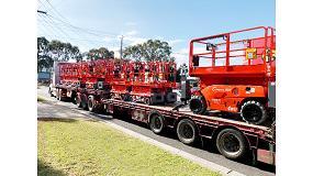 Foto de Haulotte entrega más de 400 máquinas a Coates Hire
