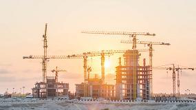 Foto de Grúas Comansa construyen un complejo residencial de lujo en Nigeria