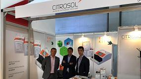 Foto de Citrosol expone por vez primera en Asia