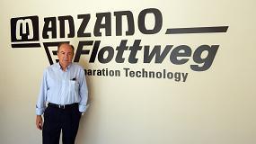 Foto de Antonio Manzano, gerente de Calderería Manzano