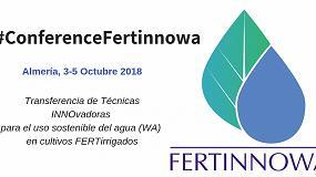Foto de La Conferencia Fertinnowa reúne a expertos en las técnicas más innovadoras de fertirrigación