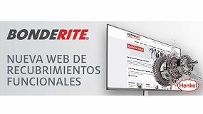 Foto de Henkel presenta su nueva web específica de recubrimientos funcionales Bonderite