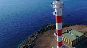 Foto de Mapei participa en la restauración del faro de Tenerife