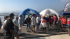 Foto de Más de 8.000 participantes en las acciones de concienciación medioambiental sobre reciclaje de Ambilamp en La Vuelta Ciclista a España 2018
