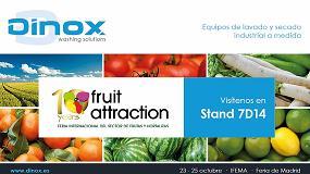 Foto de Dinox estará presente en Fruit Attraction