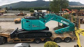Foto de Kobelco Construction Machinery entra con fuerza en el mercado ibérico con cuatro nuevos distribuidores autorizados