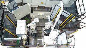 Foto de Célula de mecanizado completa con integración de máquina transfer