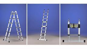 Foto de STEPX la nueva escalera telescópica de aluminio anodizado