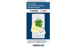 Foto de Junkers recompensa a los instaladores por instalar calderas murales de condensación con hasta 180 euros