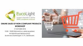 Foto de Eucolight organiza un workshop sobre la venta online de productos que no cumplen con la ley