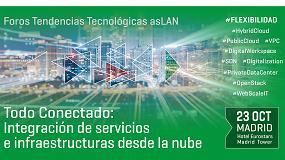 Foto de El próximo Foro Aslan se centra en la integración de servicios e infraestructuras desde la nube