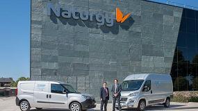 Foto de Naturgy y Fiat Professional alcanzan un acuerdo para promover el uso del gas natural