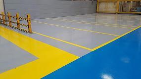 Foto de Pavimentos y recubrimientos de Protecta para la reparación y rehabilitación de suelos industriales